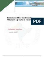 Suicide Attackes in Pakistan