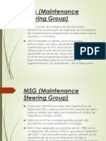 MSG (Maintenance Steering Group) 1234