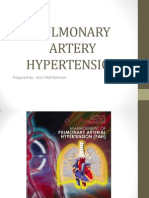 pulmonary artery hypertension