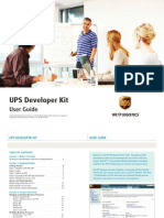 UPS Dev Kit User Guide 2