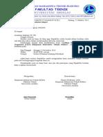 Surat Peminjaman Tempat Untuk Ketua UPT Kebun Pertanian
