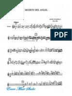 Piazzolla, Astor, Trio, Violin, Cello, Piano, Score, La Muerte Del Angel Violin