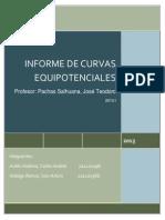 Informe 1 (Curvas Equipotenciales)