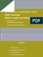 Web Crawling :