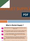 Market Supply