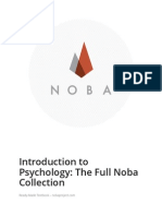 Introduction to Psychology- The Full Noba Collection