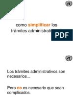 UNCTAD - 10 Principios de Simplificacion de Tramites ESP Version 2013