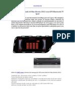 DVD Carro Para Audi A4 Mão Direita 2013 Com GPS Bluetooth TV iPod