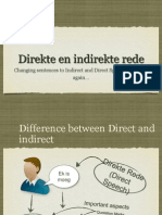 Direct and Indirect Speech Reduced Size