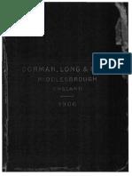 Dorman Long - Handbook 1906