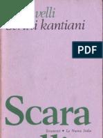 Scaravelli  -Studi Kantiani