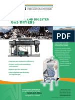 Landfill and Digester Gas Dryers