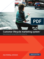 Customer Lifecycle Marketing System