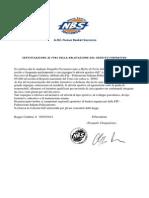Cert NBS Crediti Formativi Scuola PANGALLO 2014
