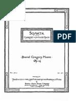 Mason - Clarinet Sonata - Score Piano