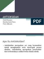 ANTIOKSIDAN (HACCP)