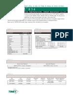 Timetal 834 Timet Data Sheet