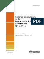 Regulations Transport 2013 2014 Eng Infecciosas