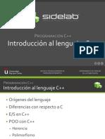 Tema II.1 IntroduccionCpp