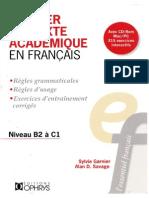 Rédiger Un Texte Académique en Français (Sylvie Garnier, Alan D. Savage)