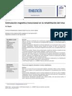 Estimulacion Magnética Transcraneal en La Rehabilitación Del Ictus
