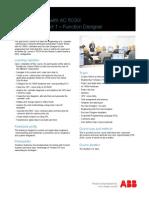 2PAA104379 B en System 800xA Course T315F - Engineering Part I - Function Designer