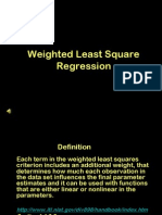 11 Weighted Least Squares Regression Calib