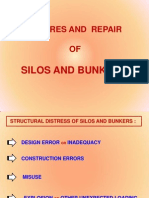 Failures and Repair of Silo and Bunkers