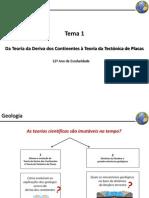 Módulo 1 - Dinâmica Da Litosfera e Grandes Estruturas Geológicas