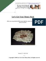 Let's Get Your Money Back