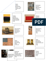 Art History Sheet 1 Test 3