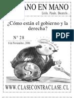 De Mano en Mano Nº28 (06 de Noviembre de 2006)