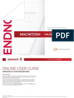 EndNote full guide