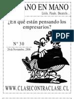 De Mano en Mano Nº30 (26 de Noviembre de 2006)