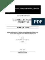 Plan de Tesis - Maestria en Gestion Ambiental Act[1]