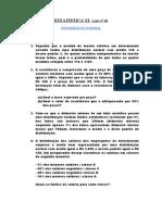 LISTA Nº 06-Distribuição Normal (1)