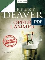 Deaver, Jeffery - Opferlämmer