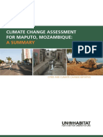 Climate Change Assessment for Maputo, Mozambique