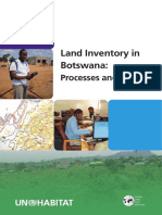 Land Inventory in Botswana