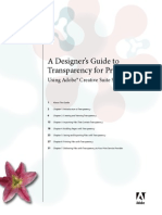 Transparency Design Guide