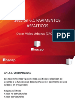 3.1-. Obras Viales Urbanas (CRO101) Pavimentos Asfalticos - Generalidades