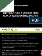 Contribuyendo a Mejorar Ideas Para La Inversion en La Infancia