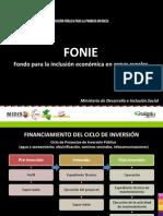 PPT FONIE Fondo Para La Inclusion Economica en Zonas Rurales