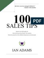 100 Sales Senator Club