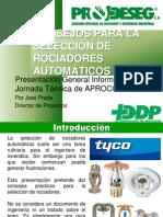 Consejos Para Seleccion de Rociadores - Jose Prada - Aprocof