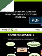 Ppt Fuentes de Financiamiento Municipal Para Proyectos de Inversion