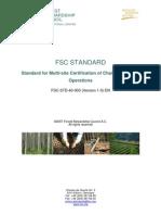 FSC STD 40 003 V1 0 en Multi Site Chain of Custody