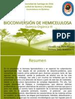Bioconversión de Hemicelulosa
