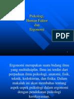 Ergonomi dan psikologi oleh jati