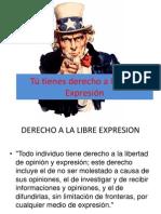 Tú Tienes Derecho a La Libre Expresión (1)